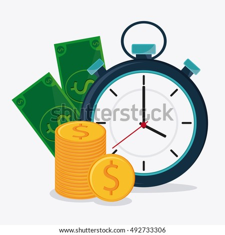 Bills coins and chronometer design