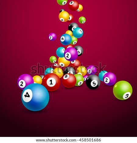Lotto Images RoyaltyFree Images Vectors – Ball Ticket Template