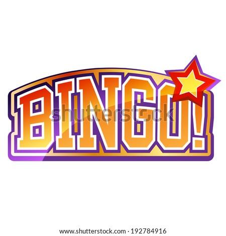Bingo Sign - stock vector