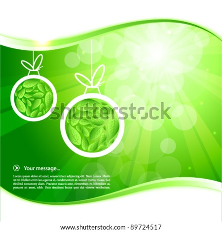 Bio background - stock vector