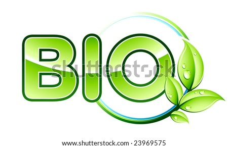 Bio design - stock vector