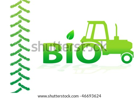 Bio design - stock vector