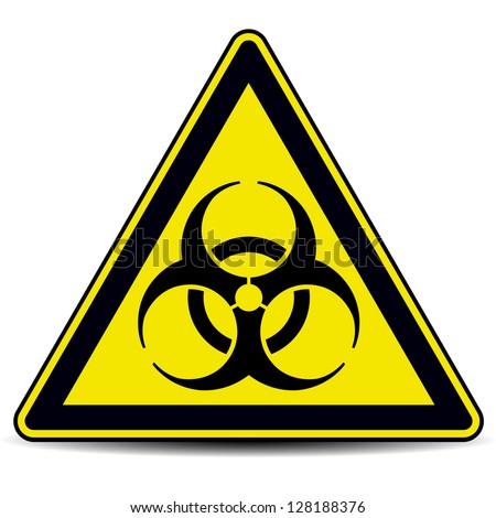 Biohazard, sign. - stock vector