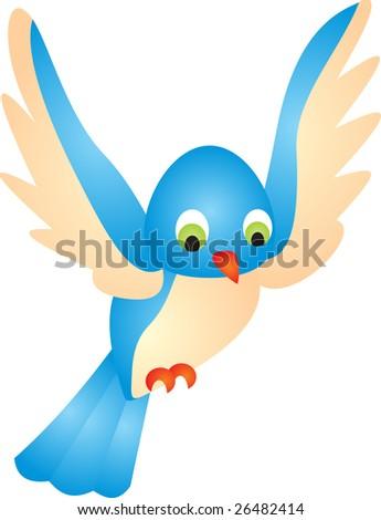 bird vector - stock vector