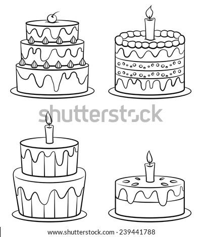 Birthday Cake Set Collection