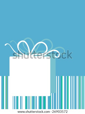 birthday card - stock vector