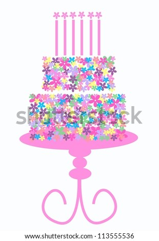birthday or other celebration - stock vector