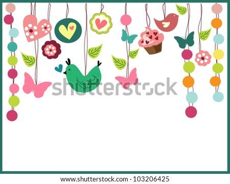Birthday Party Invitation Card Vector 103206425 Shutterstock – Card Party Invitation