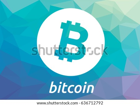 Bitcoin Crypto Currency Coin Blockchain Flat Logo Block Chain Sticker For Web Or Print