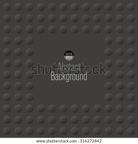 Black abstract background vector. Can be used in cover design, book design, website background, CD cover, advertising. - stock vector