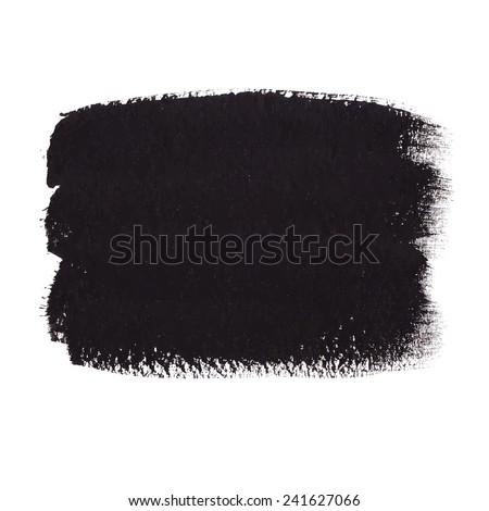 Black Acrylic Banner - stock vector
