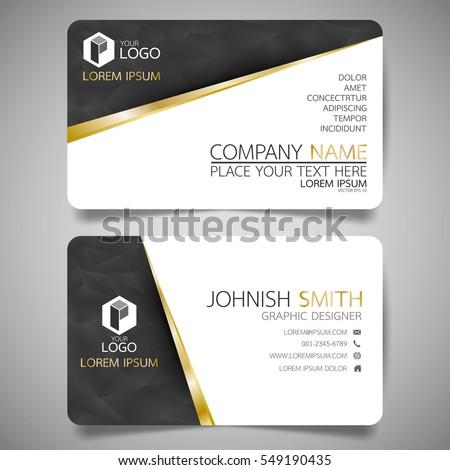Black gold modern creative business card stock vector royalty free black gold modern creative business card stock vector royalty free 549190435 shutterstock reheart Choice Image