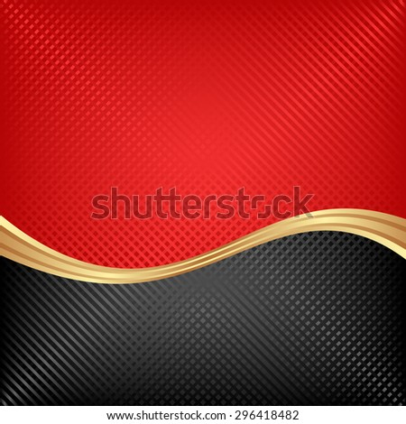 black and red background - stock vector