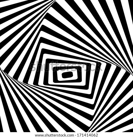 Black-and-white abstract background - stock vector