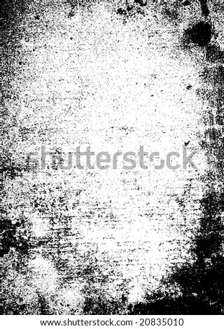 Black and white abstract background that would make an ideal texture - stock vector