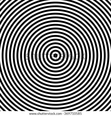 how to draw concentric circles