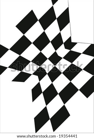 Black And White Background Perspectifve - stock vector