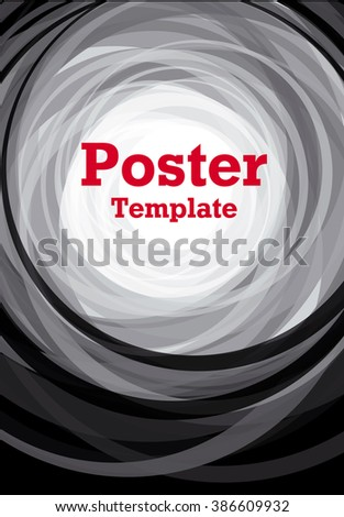 black and white background poster vector illustration