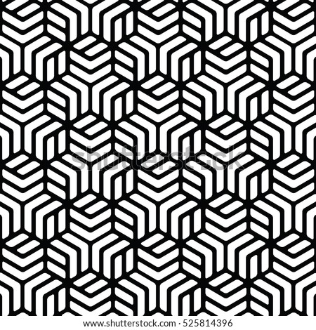 black and white background.Vector seamless pattern. Modern stylish texture with monochrome line. Repeating geometric triangular grid. Simple graphic design art.abstract.classic.fashion.print.paper