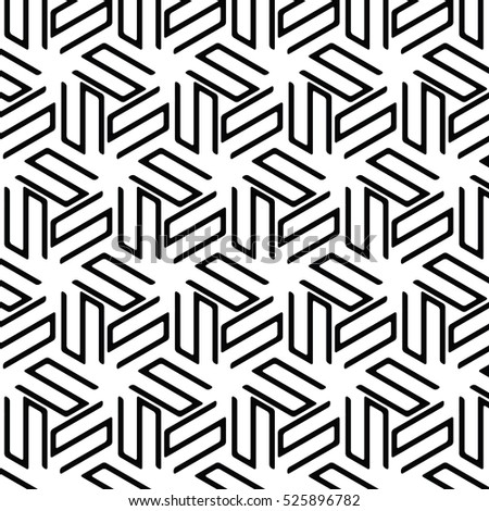 black and white background.Vector seamless pattern. Modern stylish texture with monochrome line. Repeating geometric triangular grid. Simple graphic design art,abstract,classic,fashion,repeat