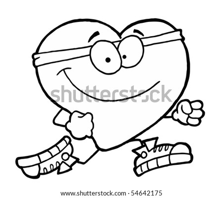 heart healthy coloring pages - photo#8