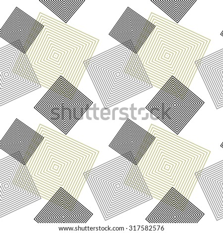Black and white diagonal squared pattern. Grey wrapping. Backgrounds & textures shop. - stock vector