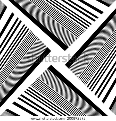 Black And White Pattern Vector 59 - stock vector