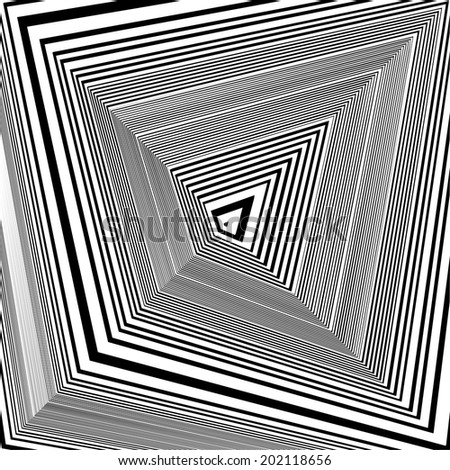 Black And White Pattern Vector 63 - stock vector