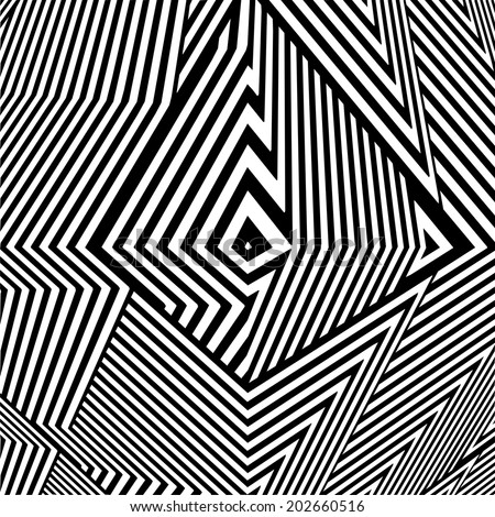 Black And White Pattern Vector 72 - stock vector