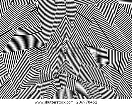 Black And White Pattern Vector 90 - stock vector
