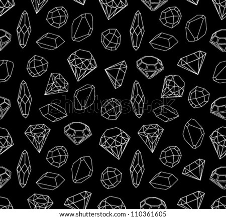 Black White Style Diamonds Background Geometric Stock ...  Black