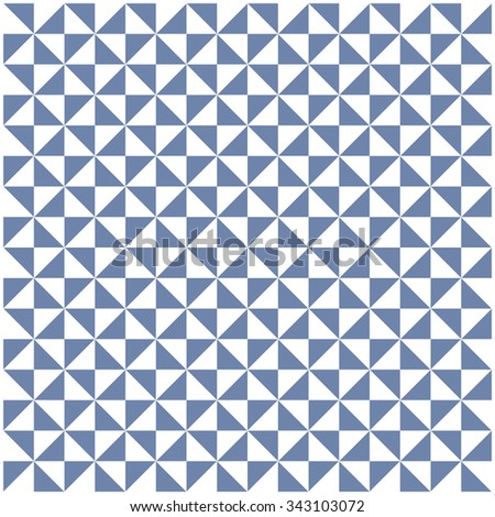 Black and white triangle pattern, background, texture - stock vector