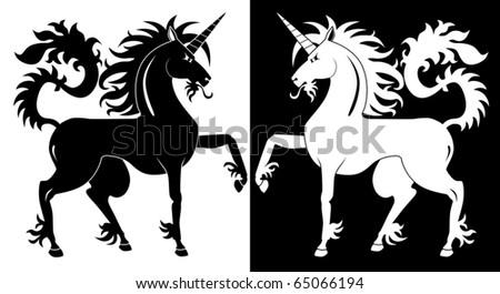 Black Unicorns mc Black And White Unicorns