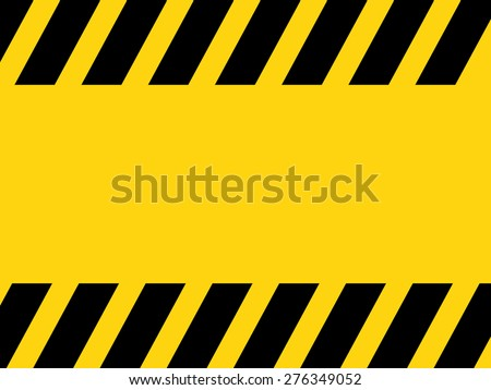 Black and yellow lines on a background - stock vector