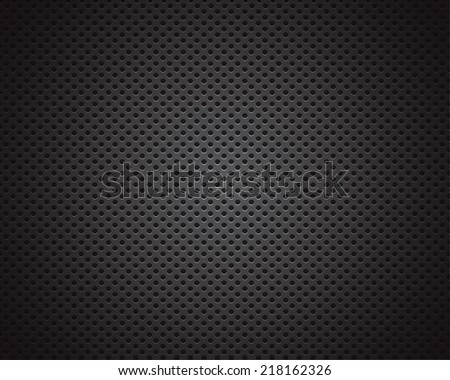Black background of circle pattern texture - stock vector