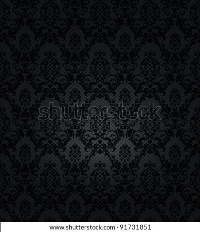 Black background, vector - stock vector