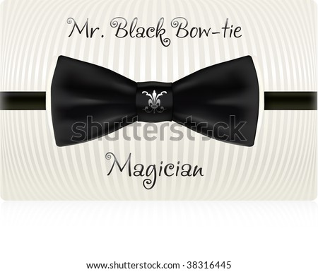 Gallery For > Vintage Bow Tie Vector