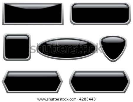 Black buttons (2)