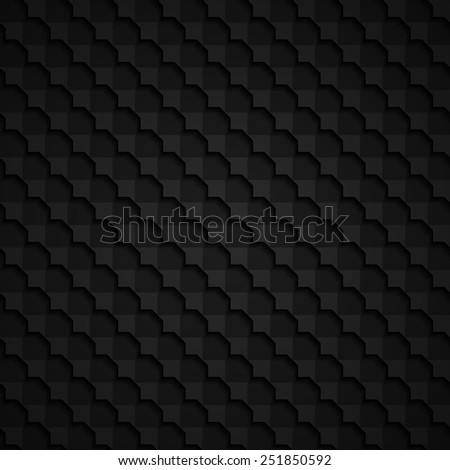 black 3d seamless background