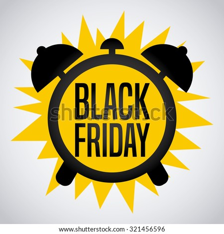 black friday design, vector illustration eps10 graphic  - stock vector