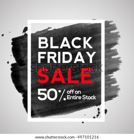 Black Friday Sale 50% Discount Poster/banner or flyer.