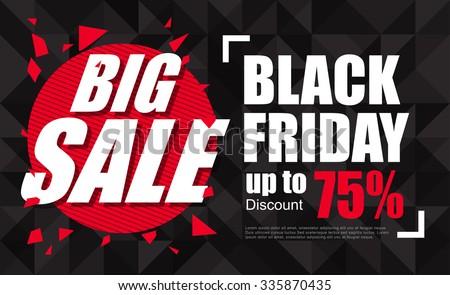 black friday sale inscription design template 335870435 shutterstock. Black Bedroom Furniture Sets. Home Design Ideas