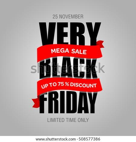 black friday sale inscription design template stock vector 332040695 shutterstock. Black Bedroom Furniture Sets. Home Design Ideas
