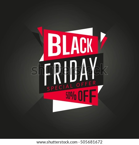 Stock Vector Black Friday Sale Sticker Or Discount Banner Special Offer Tag Symbol Fortnite Cheap