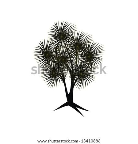 Black geometric tree