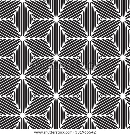 black graphic pattern abstract vector background. Modern stylish texture.