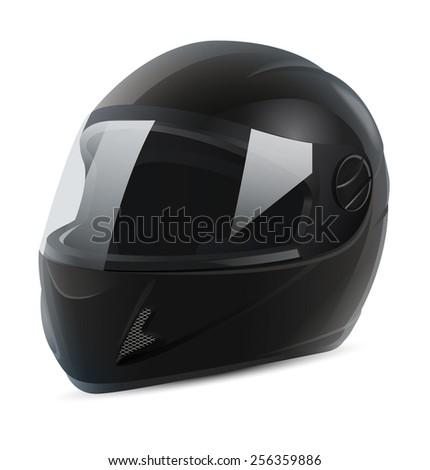 Motorcycle Helmet Vector Front Motorcycle Helmet Vector