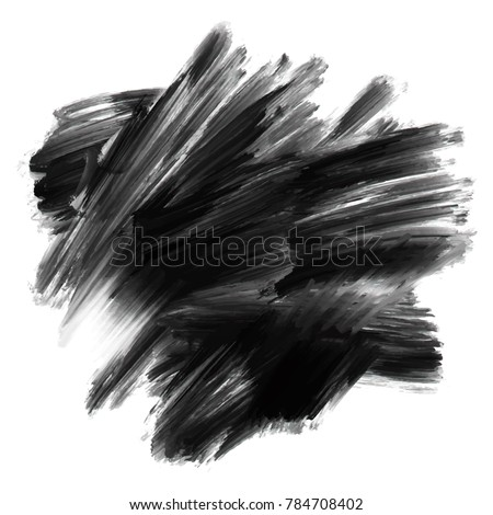 Black oil watercolor grunge texture. Acrylic painting background