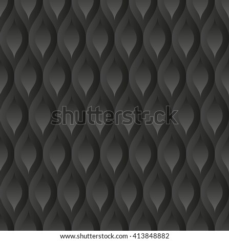 black pattern seamless - stock vector