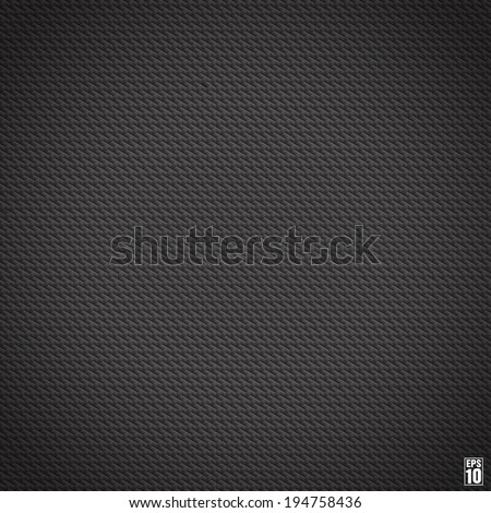 Black seamless cubic texture. Vector. Gradient.